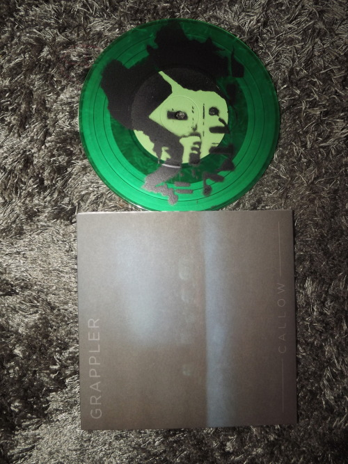 Grappler - Callow green vinyl with sprayed b-side /300 Dog Knights Productions