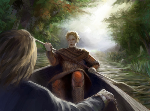 gameofthrones:  Brienne and Jaime