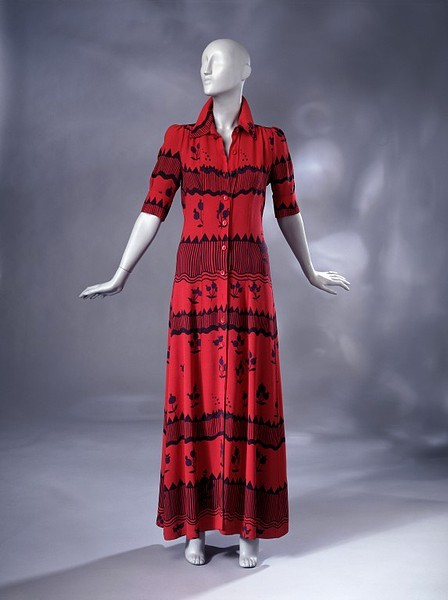 Ossie Clark 1969 Evening dress V&A