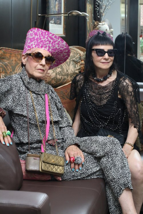 Argh, I love this site. These women rule!  http://advancedstyle.blogspot.com/2011/12/playing-dress-up.html