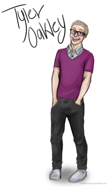 So this one time I drew Tyler Oakley.