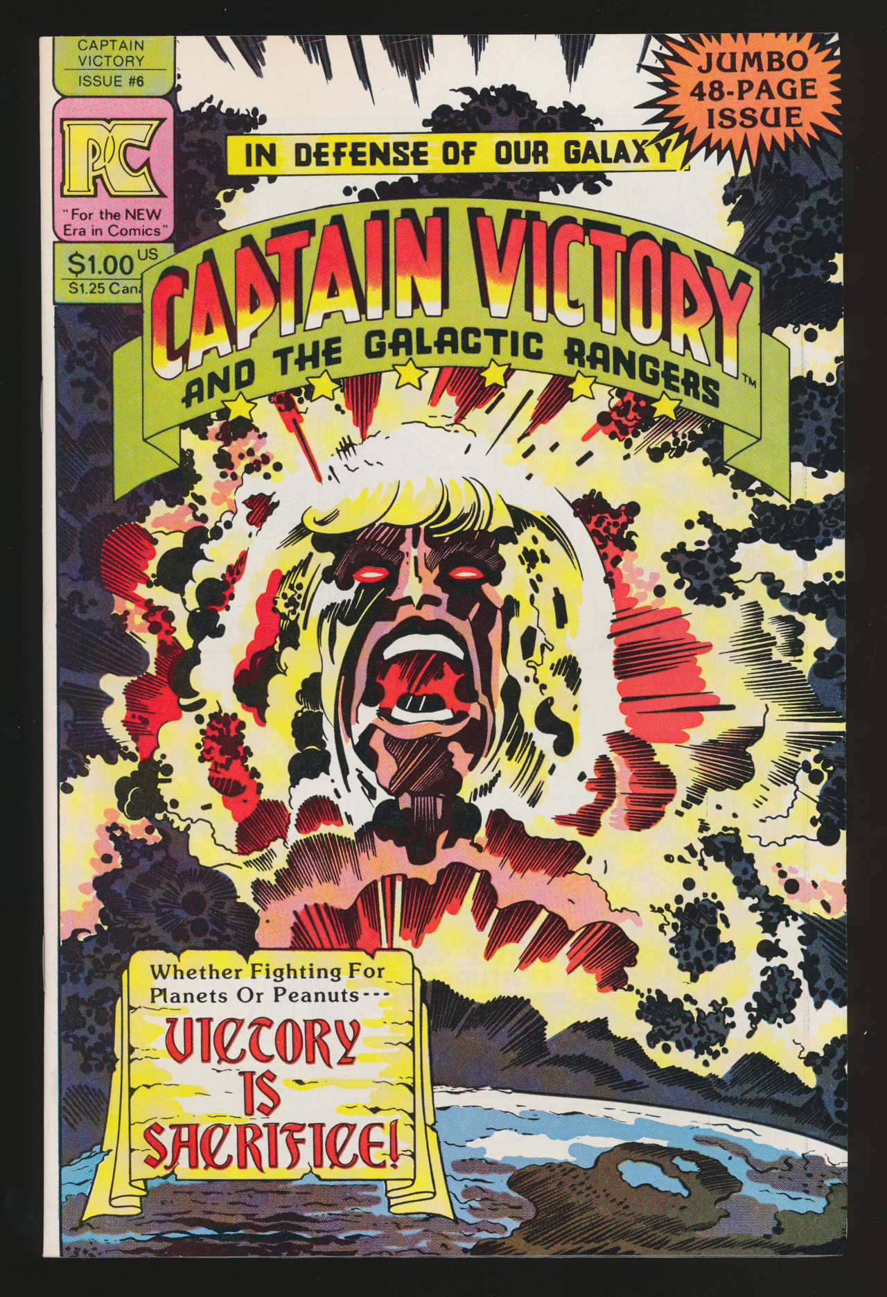 Captain Victory and the Galactic Rangers #6(Sep. 1982)
