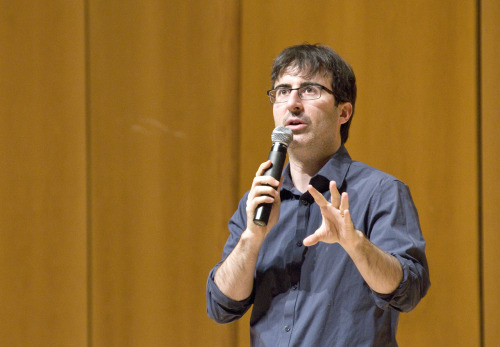 inayangphotography:  On Campus - John Oliver at Nortwestern Shot for the Daily