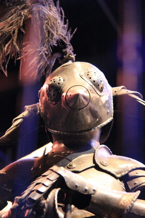 House elf armor. The Making of Harry Potter 29-05-2012 (by Karen Roe)