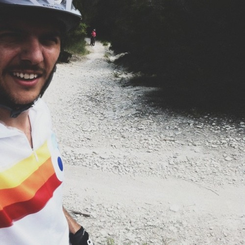 Some fast single track with @krwebber1 #atx #walnut #creek #vscocam (Taken with Instagram)