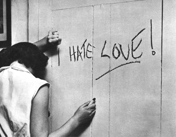 cruello:  I HATE LOVE, 1950  Stanley Kubrick via