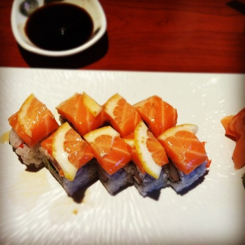I ate nemo 😞 lol #sushi #foodie  (Taken with Instagram)