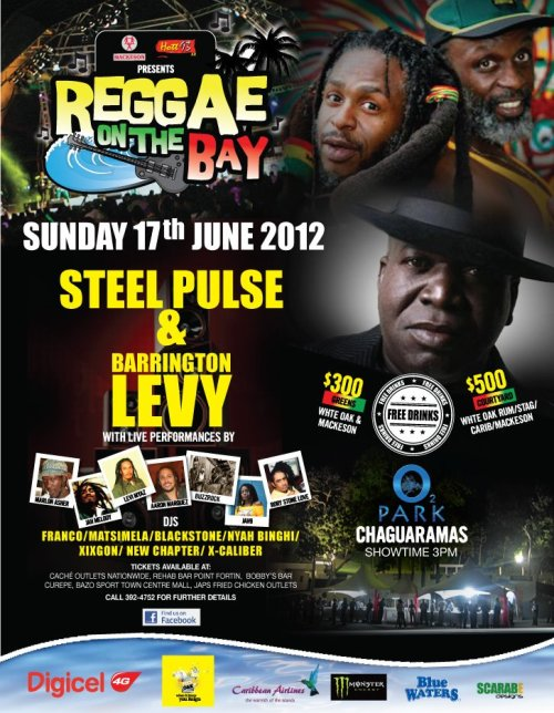 now in the land of SteelPan, Soca & Calypso #STEELPULSE in T&T … a special FATHER'S DAY TREAT!