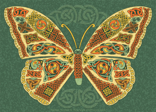 Celtic Butterfly by ~foxvox