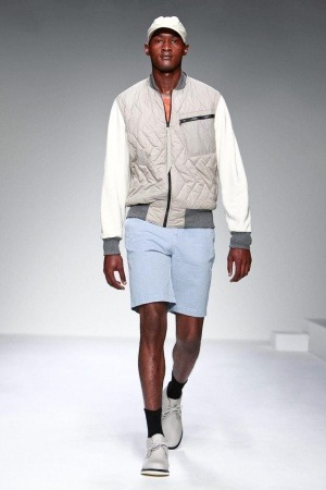 Jourdan Copeland at Christopher Raeburn Menswear S/S 2013 - London Collections