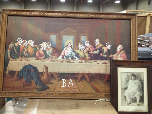 Sold !!! Fat Lady & Last  Supper