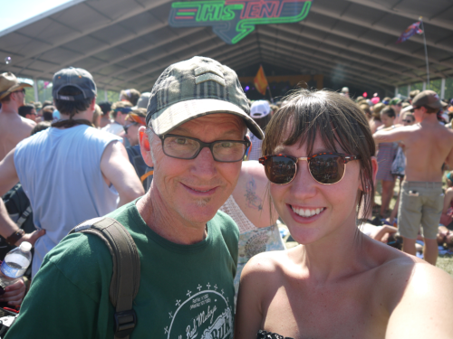 because not a lot of dads would take their daughter to Bonnaroo and love it as much as this guy did. thankful for my old man. his example and wisdom are a blessing from the Lord. I have learnt from his strengths and his flaws and couldn't have asked for a greater earthly father to protect and provide for me. love you Dad.