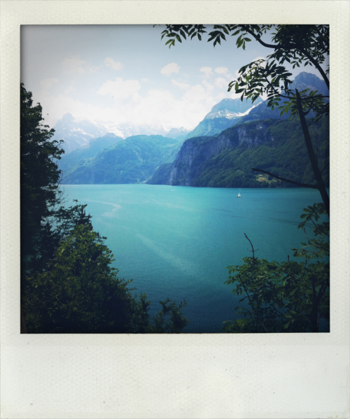 I wish I could teleport myself back to Switzerland today.