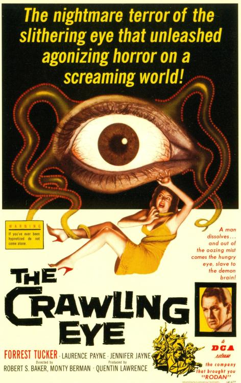 The Crawling Eye, 1958