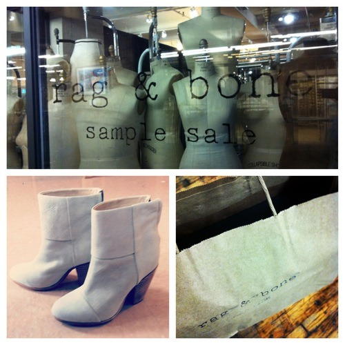 rag & bone sample sale new york city chelsea market newbury booties