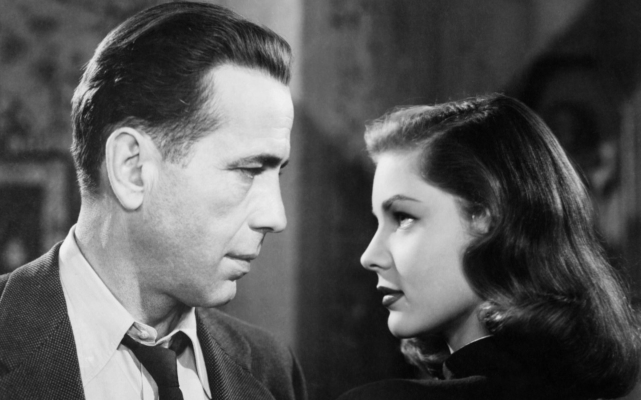 Lauren #Bacall and Humfrey #Bogart