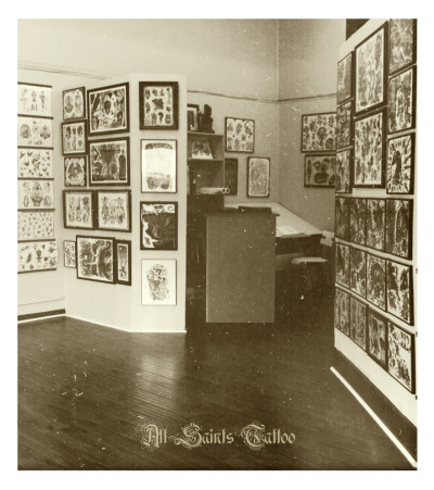 allsaintstattoo: Come get tattooed at All Saints.  WOO! Jon Reed doing big kid stuff! Take him yer skin and moneyy!
