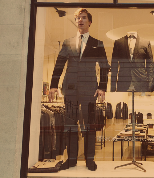 the-hedgehog-of-baskerville:  #i'd like one, thanks  #oh, a suit?  #no the mannequin  #but the mannequin is displa-  #i want the mannequin  #but ma'am -  #i want the mannequin