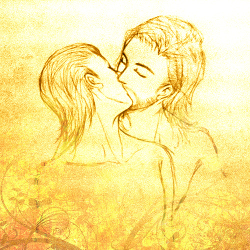 "Thor x Loki. I'm a trained draw kiss scene… The original of this scene from the book in ""9 kiss position drawing for boys love comic"""