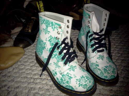 deipotentdani:  My pair of groovy Docs have been neglected.