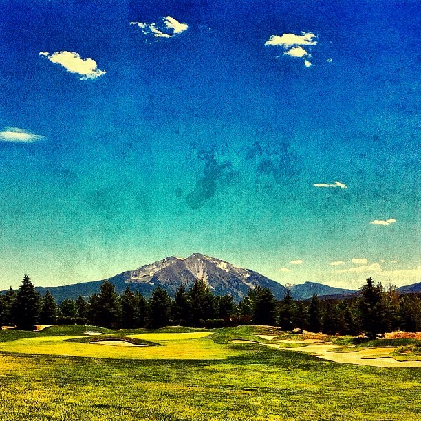 Fathers Day Golf. #iphone #snapseed  (Taken with Instagram)