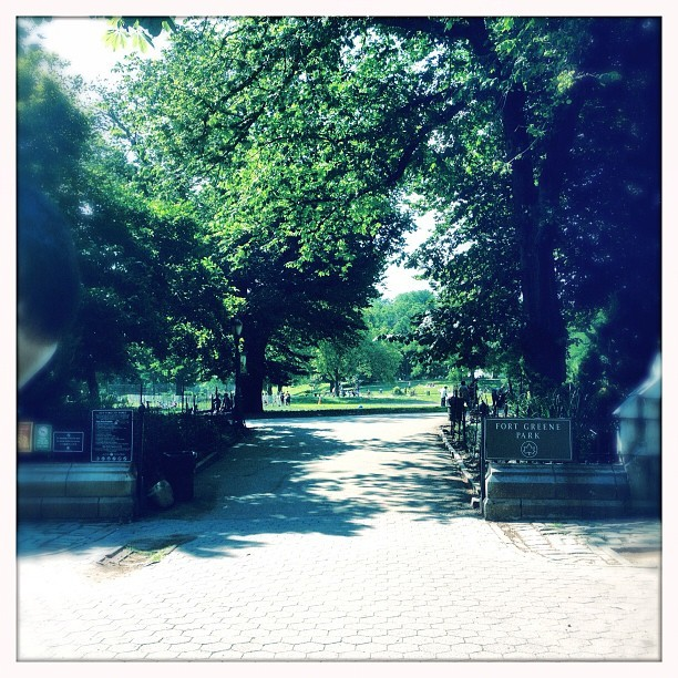 Aaahhh (Taken with Instagram at Fort Greene Park)