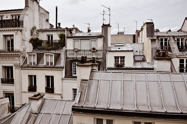| ♕ |  Roofs of Montmartre - 2e, Paris  | by © Audrey