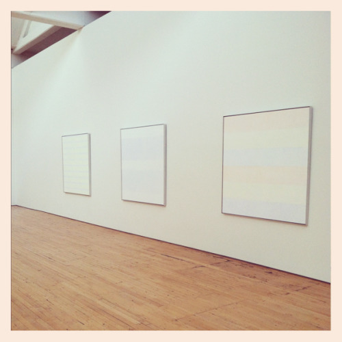 My heart stopped beating when I walked into this room Agnes Martin at The DIA « Instagram by Decade Diary
