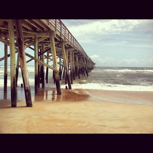 Flagler Pier (Taken with Instagram at Flagler Beach Pier)