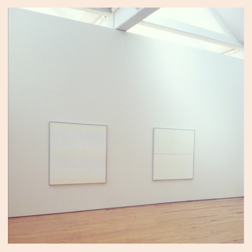 You just have to see it in person Agnes Martin's Innocent Love series at The DIA « Instagram by Decade Diary