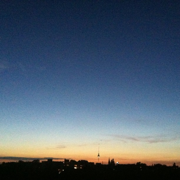Evening #Berlin #skyline (Taken with Instagram)