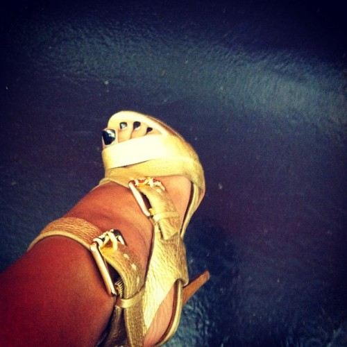 #shoegame #michaelkors #billionairebabe (Taken with Instagram)