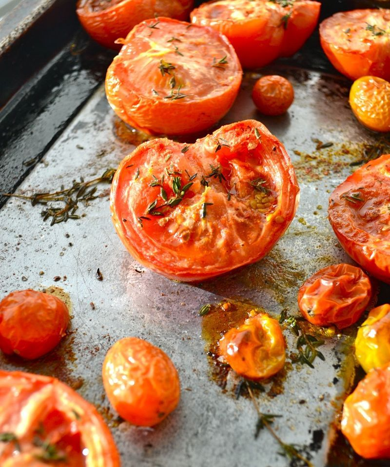 feastatarian:  Roasted Tomatoes
