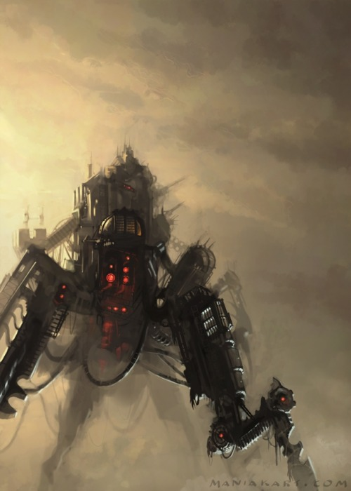 unknownskywalker:  Machine by Slawomir Maniak