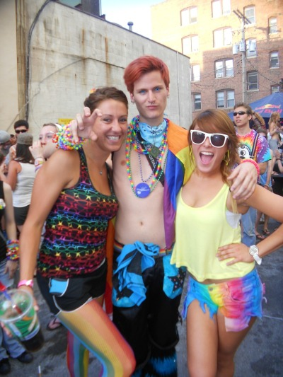 "Gay Pride 2012 ""Don't let yourself be weighed down by what other people think, because in a few years, in a few decades, or in a few centuries, that way of thinking will have changed. Live now what others will only live in the future."" –Paulo Coelho"