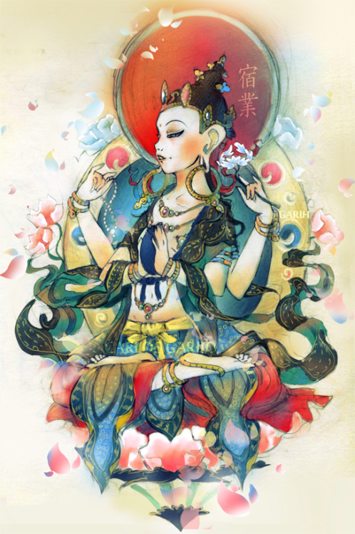 zentaku:  Buddha by Garih from deviantART
