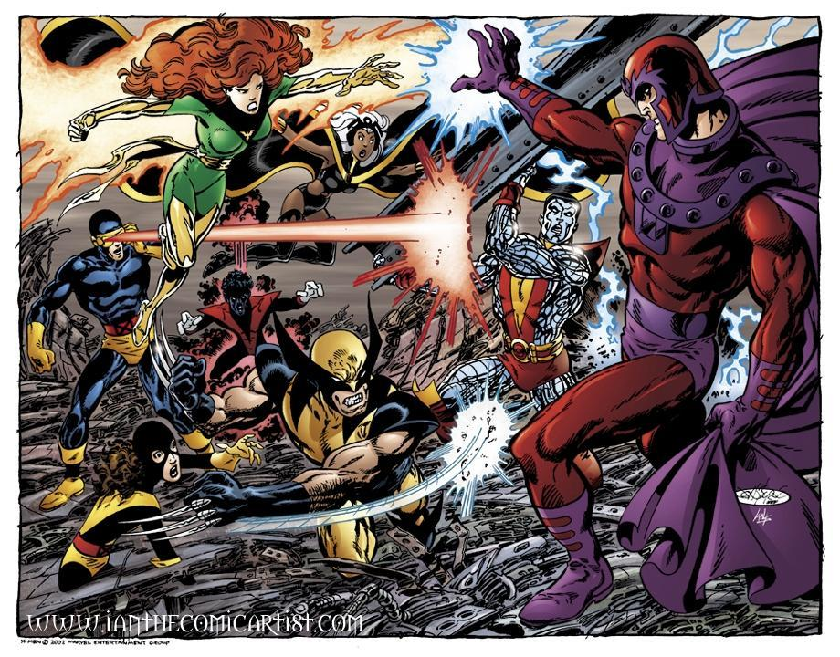 The X-Men vs Magneto