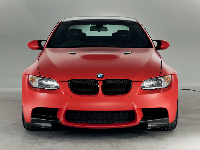 bimmers:  BMW M3 (E92) M Performance Edition in Japan Red (a BMW Individual color) with Frozen Red wrap For more BMW photos head to Bimmers.tumblr.com