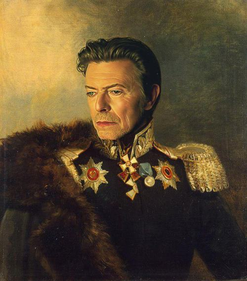 nfornihilism:  gothiccharmschool:  Yes, I swear fealty to King Bowie. Via sdaoudi:  King Bowie