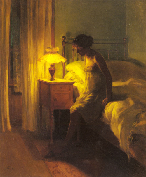 jessicaholmes:  In The Bedroom by Peter Vilhelm Ilsted