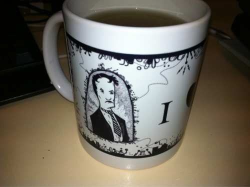 Tea and Tesla, what more could you want?