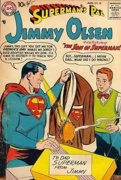 You're an asshole, Jimmy Olsen.
