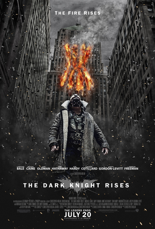 dcplanet:  The Dark Knight Rises - Bane Poster by MessenjahMatt