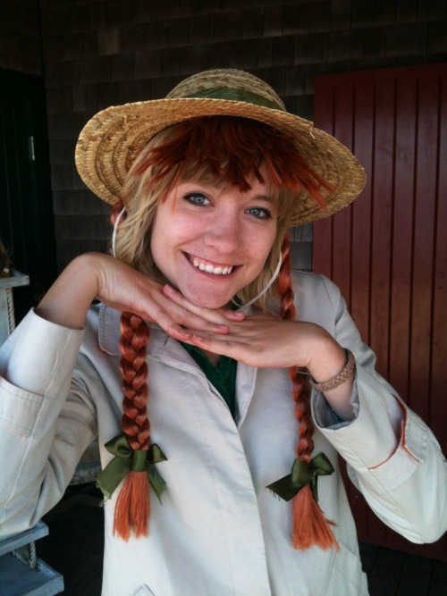 Me gettin' my Anne of Green Gables on