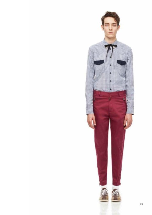 mensfashionworld:  McQ Spring/Summer 2012