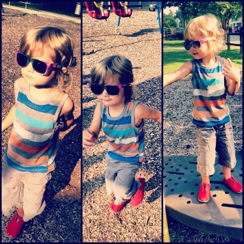 "I call his style ""park chic."" Oh, yeah. (Taken with Instagram)"
