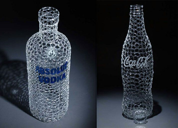 glass sculptures by Robert Mickelson