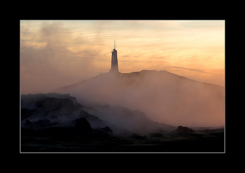 Reykjanes lighthouse by fredrikholm.se on Flickr.