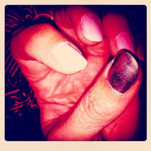 Creepy Fingers #nailart  (Taken with Instagram)