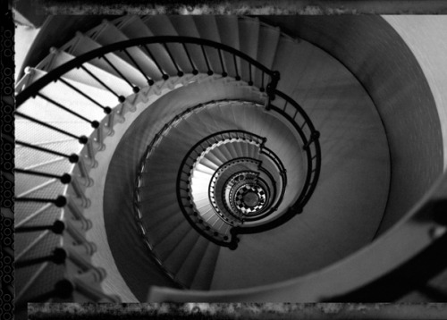 Lighthouse Staircase, Port Orange, Florida.